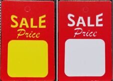 All Purpose Small Red White Yellow Sale Price Unstrung Coupon Merchandise Tags