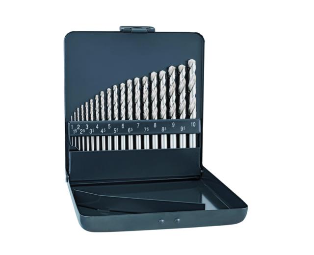 Alpen 60700150100 Morse Taper Shank Drills Hss-Eco Tin Din 338 Rn 1 5mm