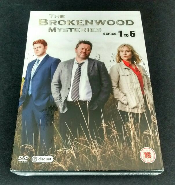 THE BROKENWOOD MYSTERIES DVD Box Set Series 1 to 6 1, 2, 3, 4, 5, 6: 12 Disc New