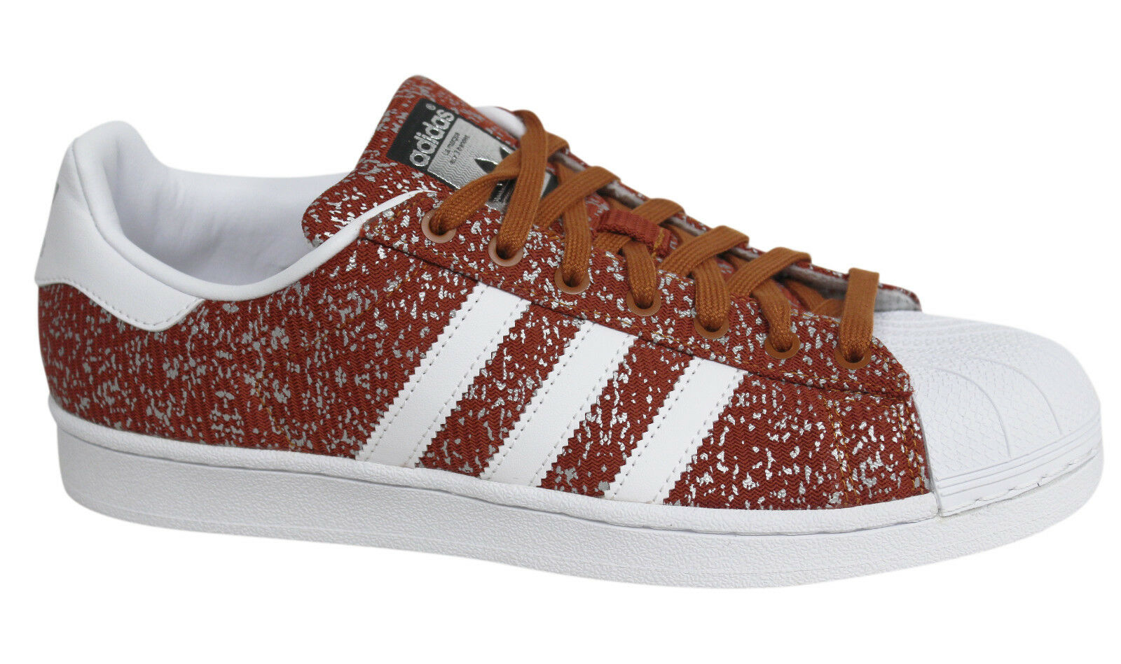 Adidas Originals Superstar Lace Up Uomo Fox ROT Synthetic  Uomo Up Trainers S85981 M8 e6a05d