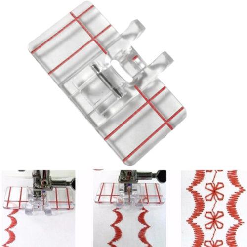 Parallel Stich Klar Fuß Füße Drücker Stickereien für Heim nähmaschine Werkzeug