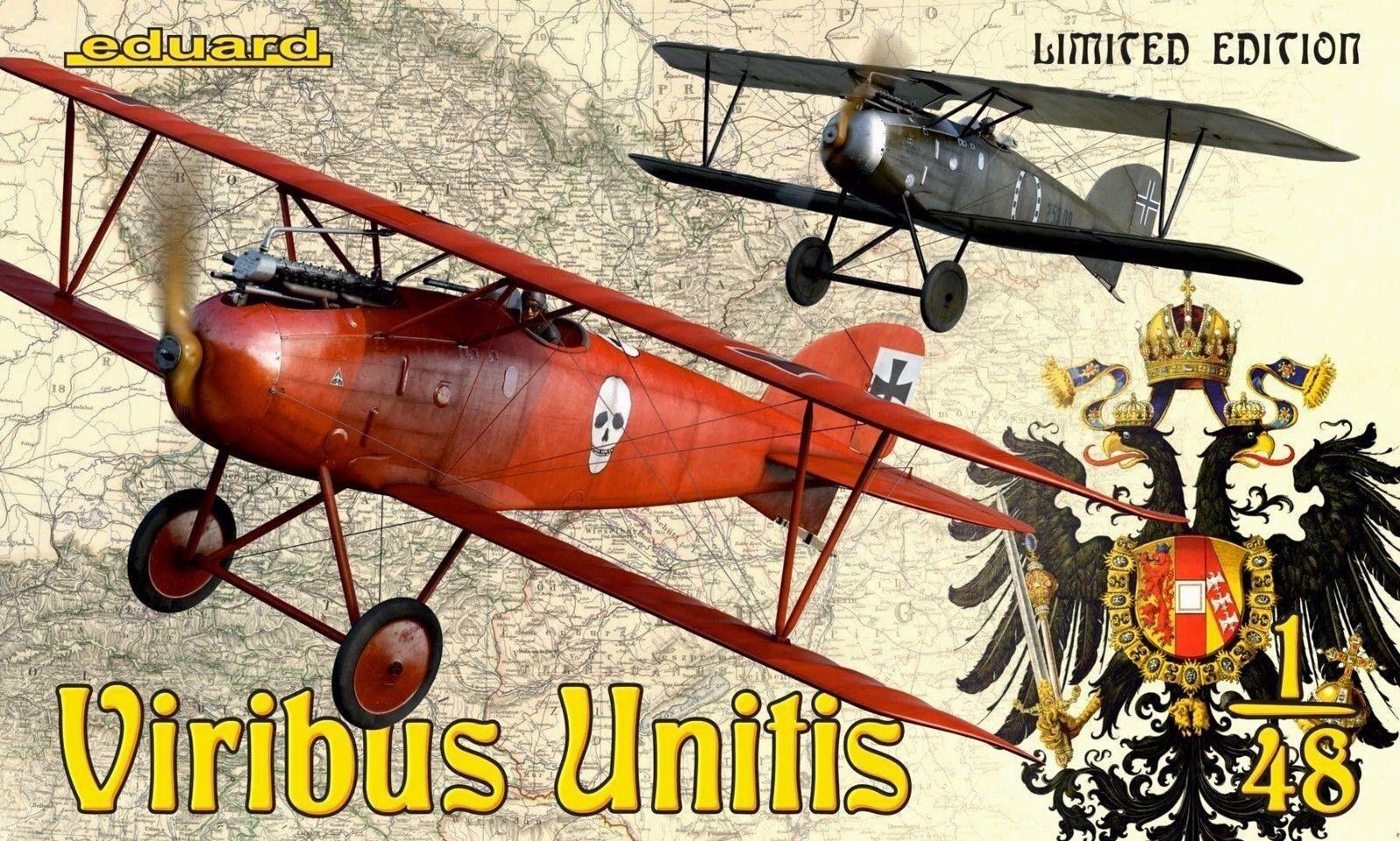 Eduard Ltd Ed 1 48 Albatros D.III Oeffag  Viribus Unitis   2 Aircraft Model Kit
