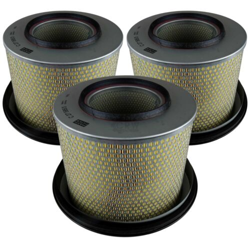 3x original MANN-FILTER FILTRO ARIA C 27 585//3 AIR FILTER