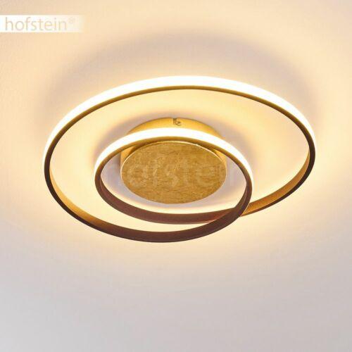 goldfarbene LED Decken Beleuchtung dimmbar Wohn Schlaf Raum Lampen Flur Leuchten