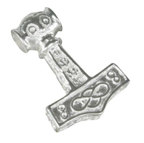 El martillo de Thor plata 925 germanos vikingo celtas joyas remolque Thor b24