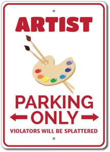 Artist-Parking-Sign-Artist-Sign-Artist-Decor-ENSA1002763