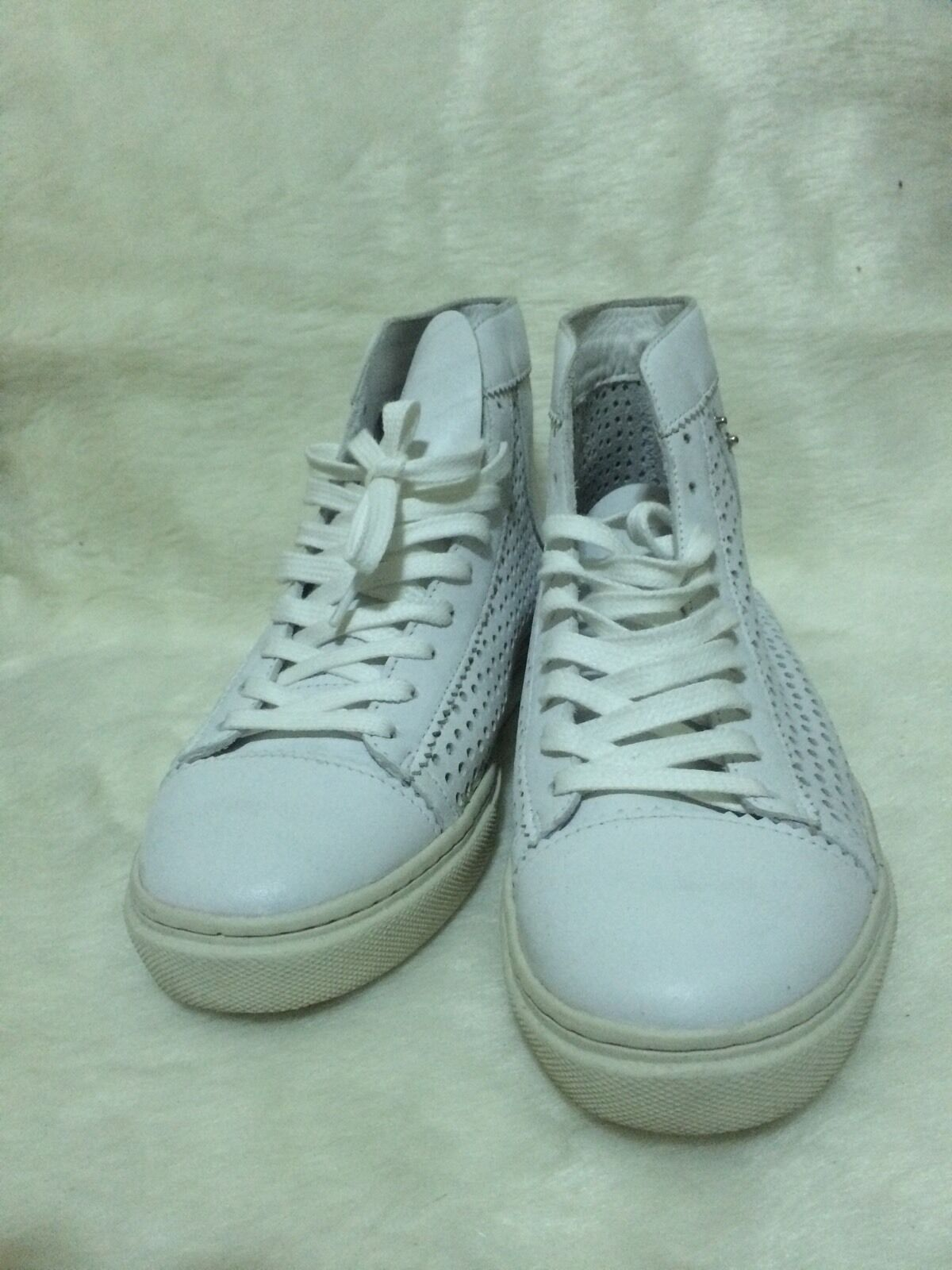 Diesel Exposure W Women White Leather Size 9.5