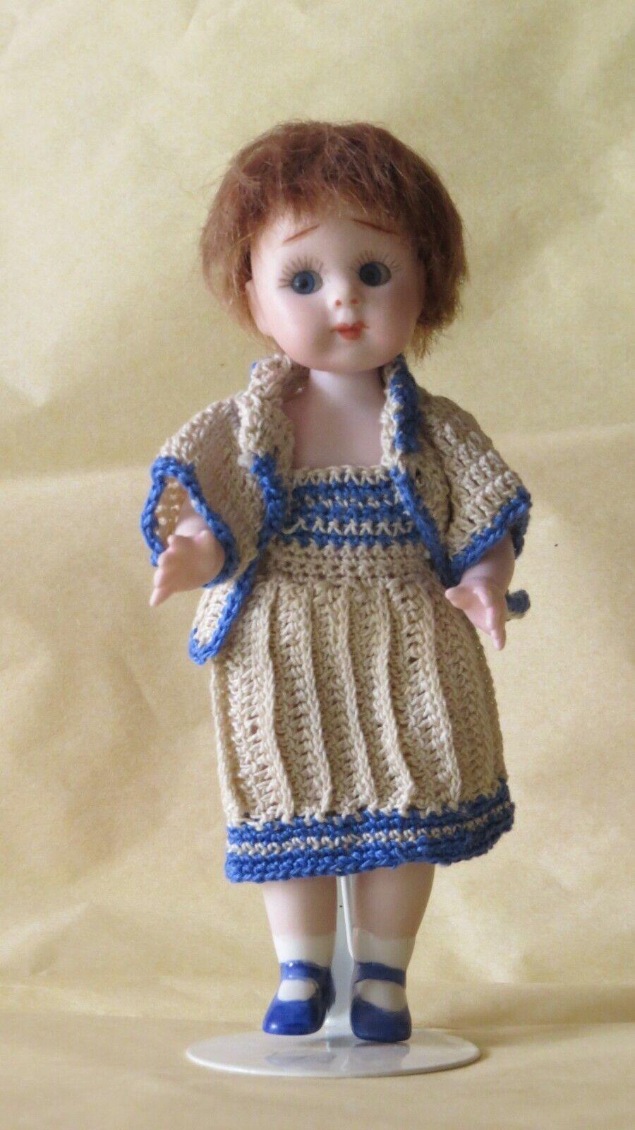 Doll Mignonnette Poupée Repro  J 11    Googlie  14 cm