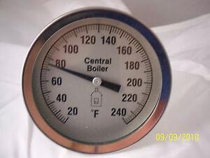 Central-Boiler-Large-3-034-Dial-Temperature-Gauge-Water-Temp-Sensor-Threaded
