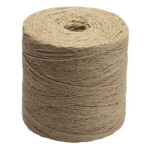 Details about Natural Twisted Sisal Twine #42 x 2250 Feet Non-Wire Rope  Biodegradable String