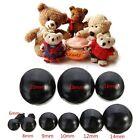 20/40/100pcs Black Plastic Safety Eyes For Teddy Bear/Dolls/Toy Animal 6mm-20mm