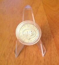 Very rare 1983 Isle Of Man Peel Town Commissioners £1 one pound coin In Capsule