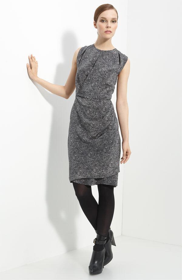 3.1 Phillip Lim Static Print Silk Dress ( Size 6 )
