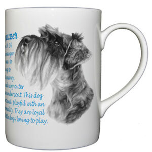 Dog Origins Breed Origins Fine bone china mug Cairn Terrier