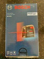 Bosch Gll 30 S Self Leveling Cross Line Laser Level With Flexible Mount Free Ship
