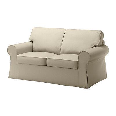 Wondrous New Ikea Cover For Ektorp Loveseat Tygelsjo Beige Complete Cotton Blend Set Ebay Creativecarmelina Interior Chair Design Creativecarmelinacom