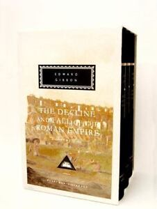 the decline and fall of the roman empire volumes 1 3 of 6 everymans library