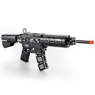 Technic UZI Militär Gewehr Waffe 42056 42083 Blöcke Bausteine MOC pistole 42110