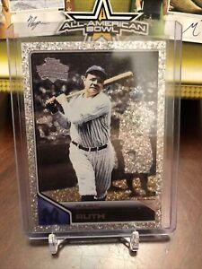 2011 Topps Lineage Babe Ruth Diamond Anniversary Platinum Refractor #100