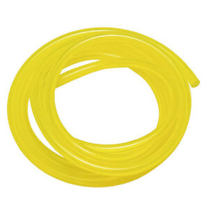 Premium-Quality-Tygon-Fuel-Line-1-4-034-ID-X-3-8-034-OD-Clear-Yellow-10-Feet