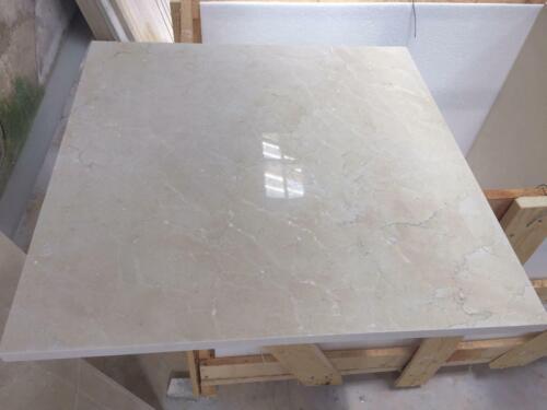 Luxus Marmor Boden Naturstein Boden Belag Wand Fliesen Crema Fliese 60x60 5m²