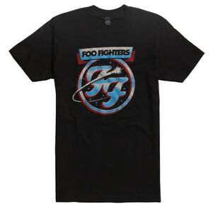 192d7eb0e23 Foo Fighters FF COMET LOGO T-Shirt NWT Dave Grohl Rock Band 100 ...