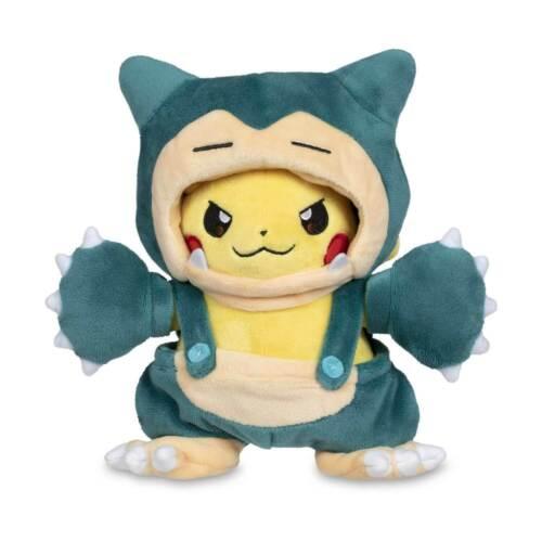 Pokemon Snorlax Poké Maniac Costume Pikachu  Soft Plush Toy Stuffed Doll 8 In
