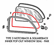 New Type 3 Inner Pop-Out Seal Pair 1961-1970 Notchback 1962-1970 Squareback
