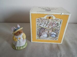 ROYAL-DOULTON-BRAMBLY-HEDGE-PRIMROSEWOODMOUSE-DBH-8-BOXED