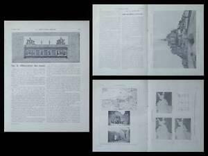 La Construction Moderne -n°24-1920- Mont Saint Michel