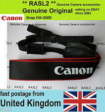 Original Genuine Canon Strap EOS EW-300D Neck Shoulder Strap EOS 760D 650D 100D