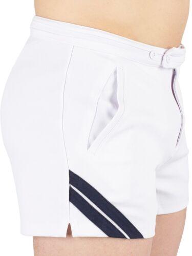 Sergio Tacchini Blanco Tenis Pantalones Cortos Edición Limitada