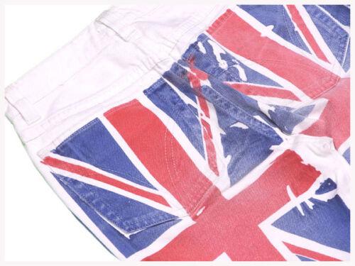 Dolce Blanc C3084 Pantalon Authentique Gabbana Rouge Femme Occasion q1ZwHdw