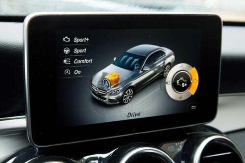Daimler W205//W253 Monitor LCD Zentral Navi Display High