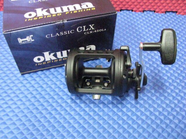 Okuma Classic Levelwind Star Drag Reel 450 Size CLX-450La