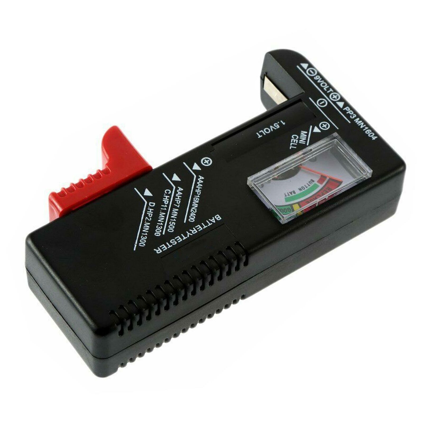 Universal Battery Tester Batteries Checker For 1.5V 9V AAA AA C D Cell Button