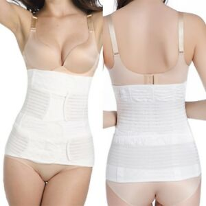 b7514199f6 2 in 1 Women Postpartum Belly Band Wrap C Section Recovery Support ...