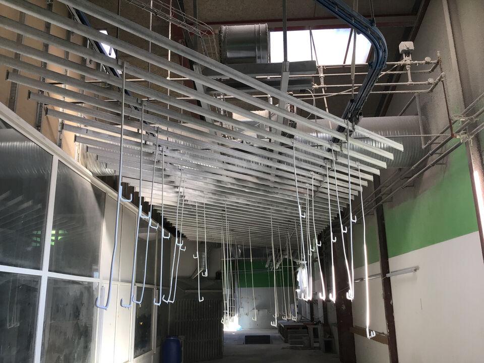 Conveyorbane 120 meter el trukket