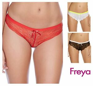 Image is loading Freya-Fancies-Brazilian-Brief-1017-Chilli-Red-White- 9f51a5f4b