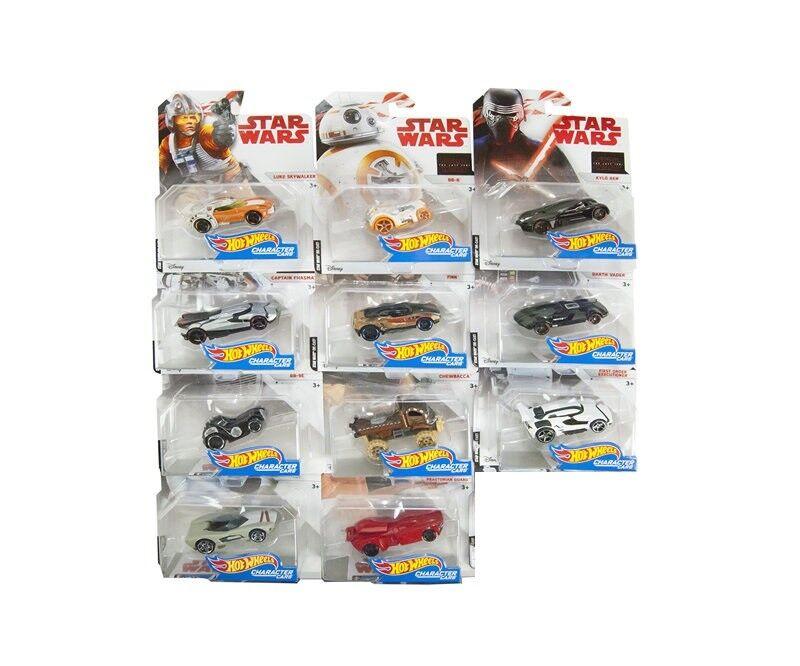 Hot Hot Hot Wheels Star Wars Episode 8 Character Cars  in 1 64   11 ´ er Set  FDJ70-965B  | Deutschland Berlin  0f80f9