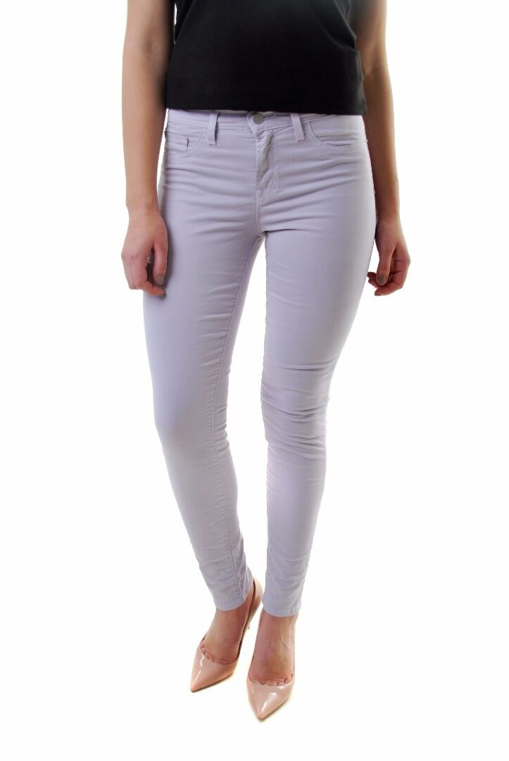 J BRAND Women's New Magnolia Skinny Jeans Purple 811K120 Size 25 RRP BCF610