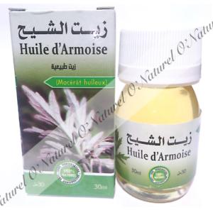 Huile-d-039-Armoise-Macerat-100-Naturelle-30ml-Mugwort-Oil-Aceite-de-Artemisa