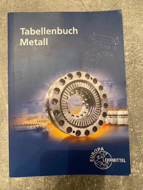 Tabellenbuch Metall | Ohne Formelsammlung | Roland Gomeringer | Taschenbuch
