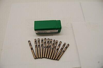 "12 Pieces .0635/"" Stub Lgth Drill Cobalt Screw Machine #52 - USA- 135° Pt"