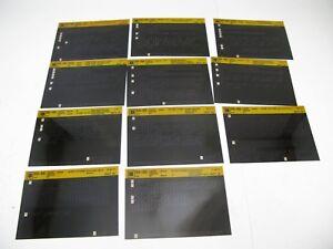 Chevrolet-S10-95-96-S-T-Microfiche-Light-Truck-Parts-11-Cards-Catalog-Chevy-E