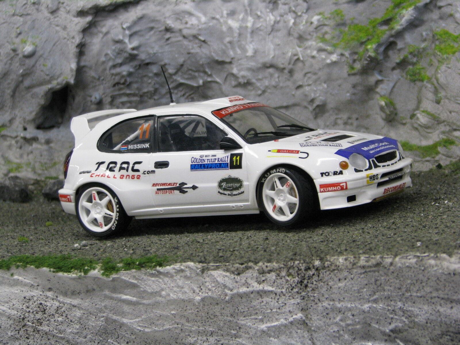 QSP Toyota Cgoldlla WRC 1 24 Nijhof   Hissink golden Tulip Rally 2006