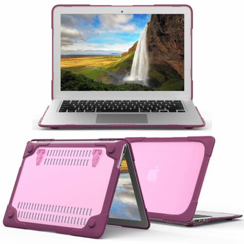 "Slim Shell Translucent Protective Laptop Case For Macbook Pro Retina 12/"" 13/"" 15/"""