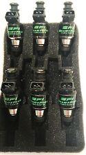 6 650CC Fuel Injectors RB20DET RB26DETT R32 R33 R34 RB25DET HKS 11mm 14mm oring
