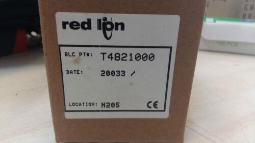RED LION  T4821000 TEMPERATURE CONTROLLER 85-250VAC 50//60Hz 8VA