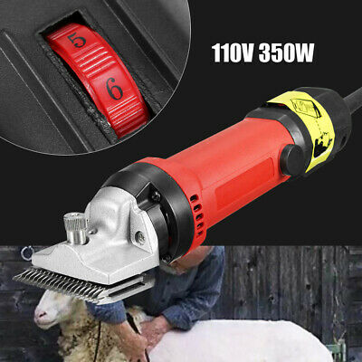 110V//350W Electric Shears Shearing Machine Clipper Blade Cleaner Brush for Horse